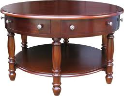 end table with locking drawer 6 drawer round mahogany coffee table lock stock barrel