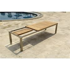 Expandable Patio Table Brilliant Extendable Outdoor Table For Expandable Patio Regarding
