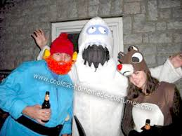 coolest homemade rudolph red nosed reindeer character costumes