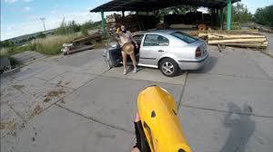 nerf car shooter nerf fight first person shooter wooden stick boss attack youtube