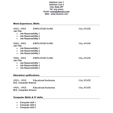 resume templates word 2010 replace the prepopulated content