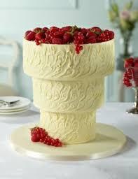 upside down white chocolate swirl wedding cake m u0026s