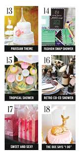 kitchen tea ideas themes 150 bridal shower ideas the dating divas