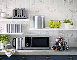 appliance where to put a microwave in a small kitchen best