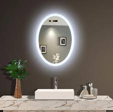 backlit mirrors for bathrooms backlit wall mirrors lighted