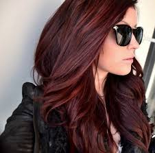 Red Hair Color With Highlights Pictures 10 New Haircuts To Try For Winter Dark Red Hair Dark Red And