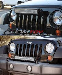 best jeep light bar 16 best jeep led lights images on pinterest jeep jeeps and