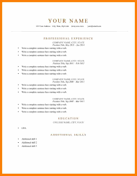 Resume In English Examples by 6 Writing A Cv In English Example Computer Invoice