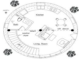 floor plan for a round house oval straw bale soma earthfloor plans