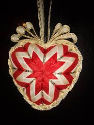 71 best serce karczoch images on pinterest quilted ornaments