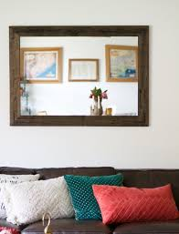 Reclaimed Wood Home Decor by Rustic Wall Mirror Large Wall Mirror 42 X 30 Vanity Mirror