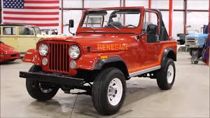 renegade jeep cj7 1985 jeep cj 7 renegade youtube