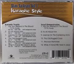 The Old Rugged Cross Lyrics Alan Jackson Alan Jackson Volume 1 Christian Karaoke Style Cd G Daywind 6 Songs