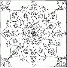 free printable geometric design coloring pages coloring home