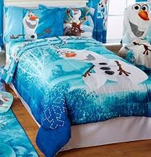 Frozen Comforter Full Size Disney Frozen Olaf Build A Snowman Twin Full Bedding Comforter And