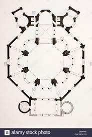 Church Floor Plans Free by Floor Plan Of The 6th Century Byzantine San Vitale Church In