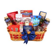snack gift basket the ultimate sundae