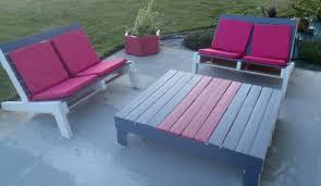 fabrication canapé palette bois awesome salon de jardin en palette de bois tuto contemporary