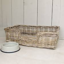 Rattan Baskets by Wicker Dog Baskets And Beds Uk The Best Basket In The World