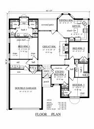 traditional style house plan 4 beds 2 00 baths 1701 sq ft plan