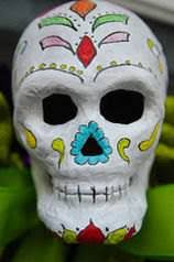 Day Of The Dead Mask Day Of The Dead Vs Halloween Difference And Comparison Diffen