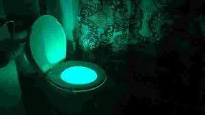 toilet light this gadget turns your toilet into a night light and people love it