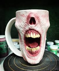 halloween coffee mugs secure your coffee with a scary zombie mug