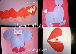 heart animals my heart is a zoo reading confetti