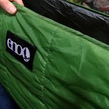 eno hammocks ember 2 hammock under quilt overview 50 campfires