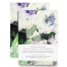 Wedding Paper Floral Wedding Invitations Brides