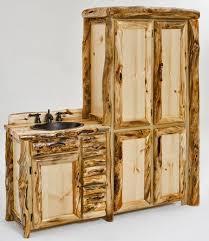 Rustic Wood Bathroom Vanity - vanities rustic bathroom vanities barnwood vanities