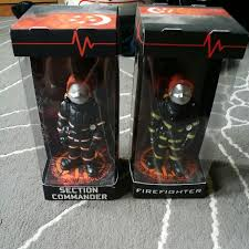 firefighter figurines scdf firefighters figurines toys on carousell