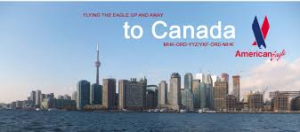 Airways Transit Kitchener - to canada on american eagle yyz and ykf via ord airliners net
