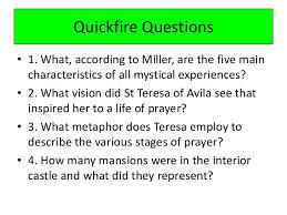 St Teresa Of Avila Interior Castle Lesson 3 Mysticism U2013 St Teresa Of Avila