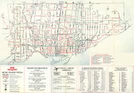 La Metro Map Pdf by Ttc System Maps Transit Toronto Content