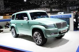 tesla jeep geneva motor show the weird and wonderful aol uk cars