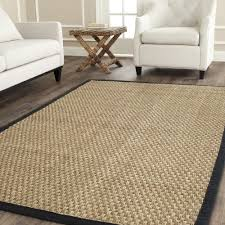7 jute rug safavieh fiber collection nf114c basketweave