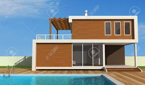 luxury modern house with swimming pool exclusive design