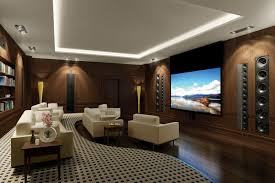 Simple Elegant And Affordable Home Cinema Room Ideas - Design home theater