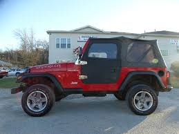 jeep wrangler maroon 2002 jeep wrangler tj sahara for sale in medina oh southern