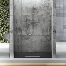 fiora rectangular avant low profile shower tray u0026 waste 700mm x