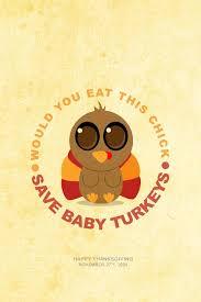 thanksgiving save baby turkeys iphone wallpaper background