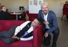 richard branson catches his employee sleeping at work bored panda