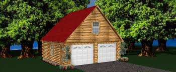 cabin garage plans single car log cabin garage log garage kits
