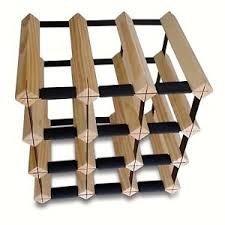 12 bottle timber wine rack complete wine storage solution over