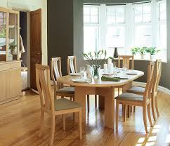 Contemporary Danish Dining Room Table Skovby A Wharfside - Beech kitchen table