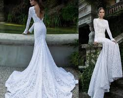 lace backless wedding dress 2016 berta lace backless wedding dresses with sleeves crew