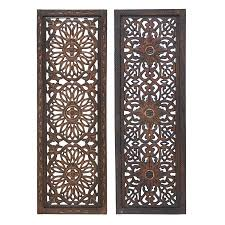 shop woodland imports 2 piece 12 in w x 36 in h framed wood