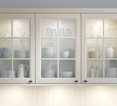 White Kitchen Cabinets With Glass Doors Decoration Kitchen Cabinets Glass Doors