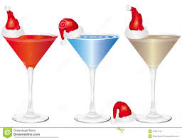 christmas party drinks clipart 38